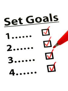 Write Down Your Goals